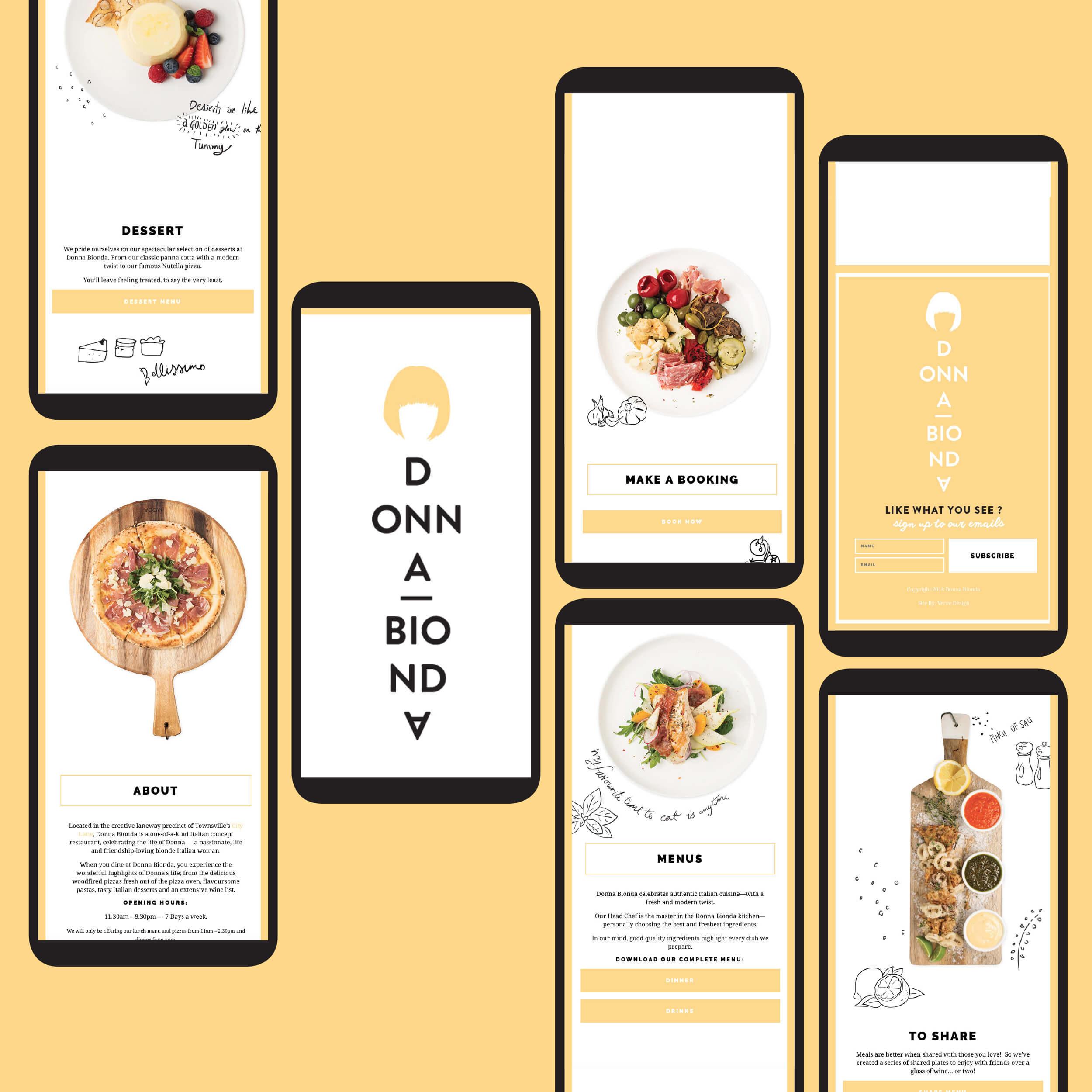 Verve Design Portfolio Donna Bionda