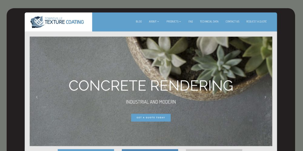 Verve Design Portfolio Townsville Texture Coating