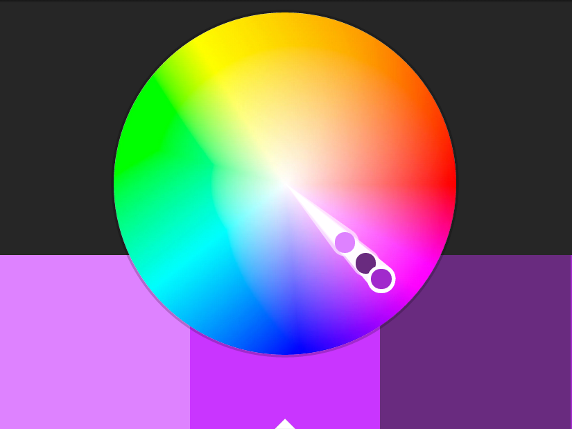Monocromatic Colours