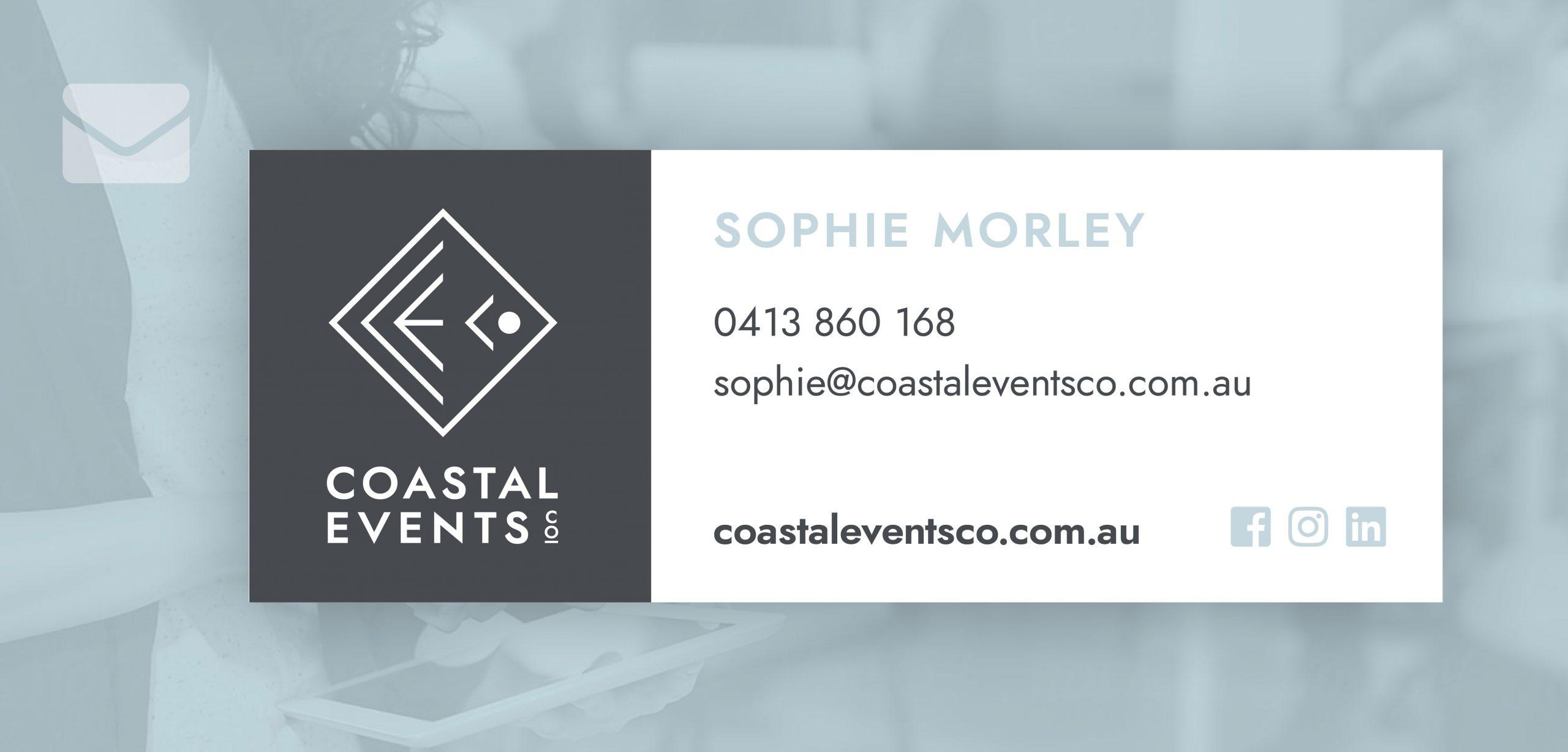 Coastal Events Co. Branding
