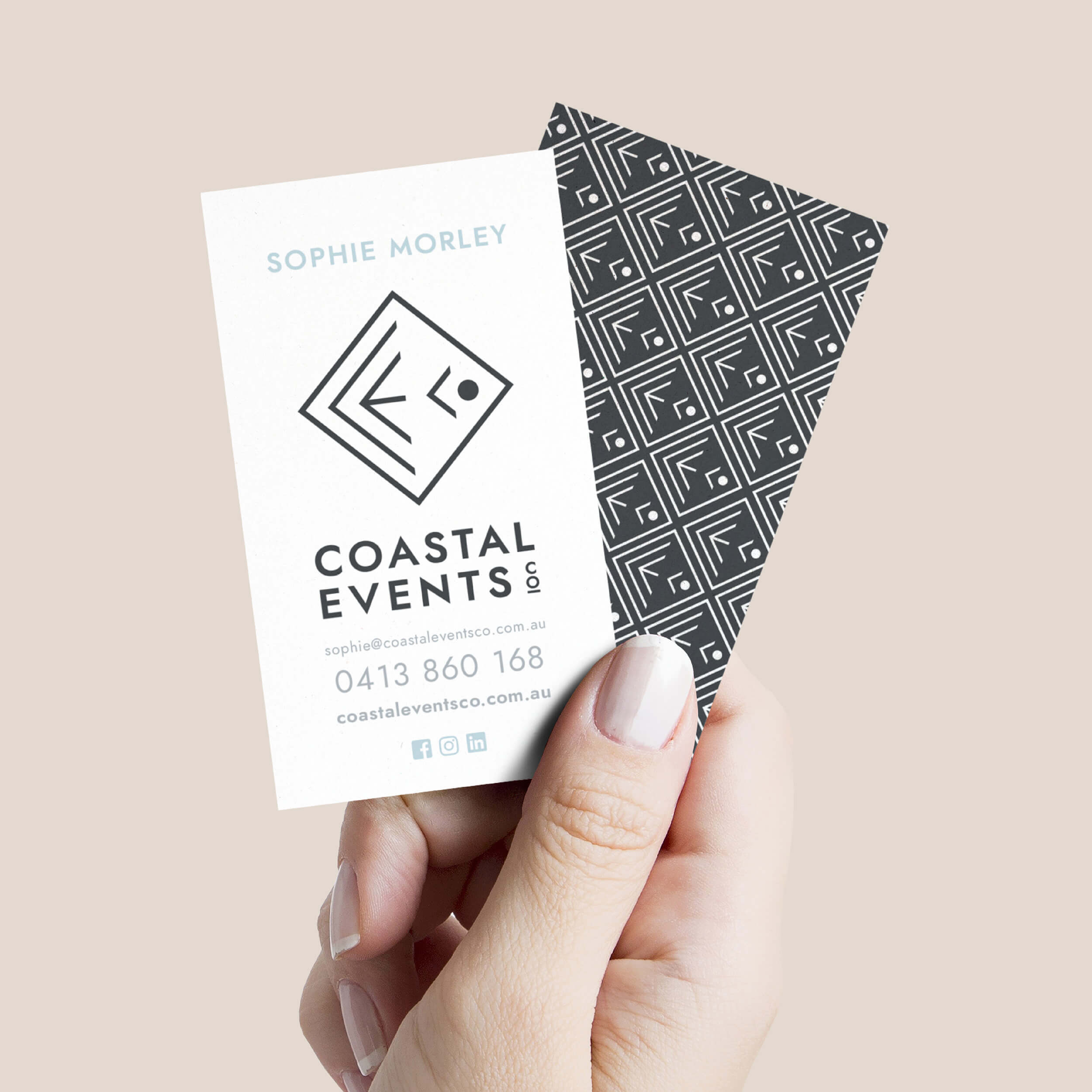 Verve Design Portfolio Coastal Events Co