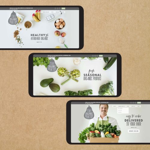 The Organic Pantry Web Design
