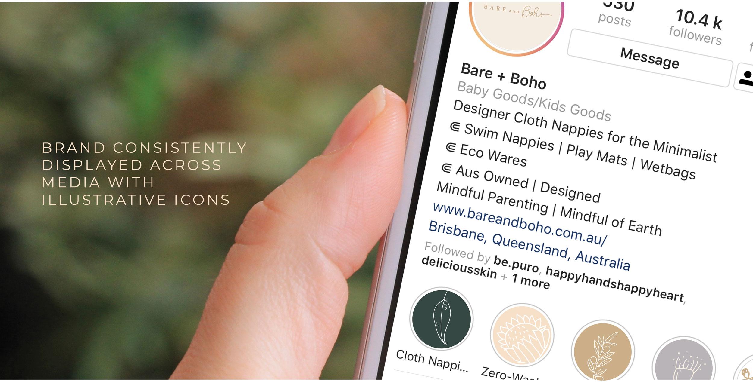 Verve Design Web Portfolio Bare + Boho