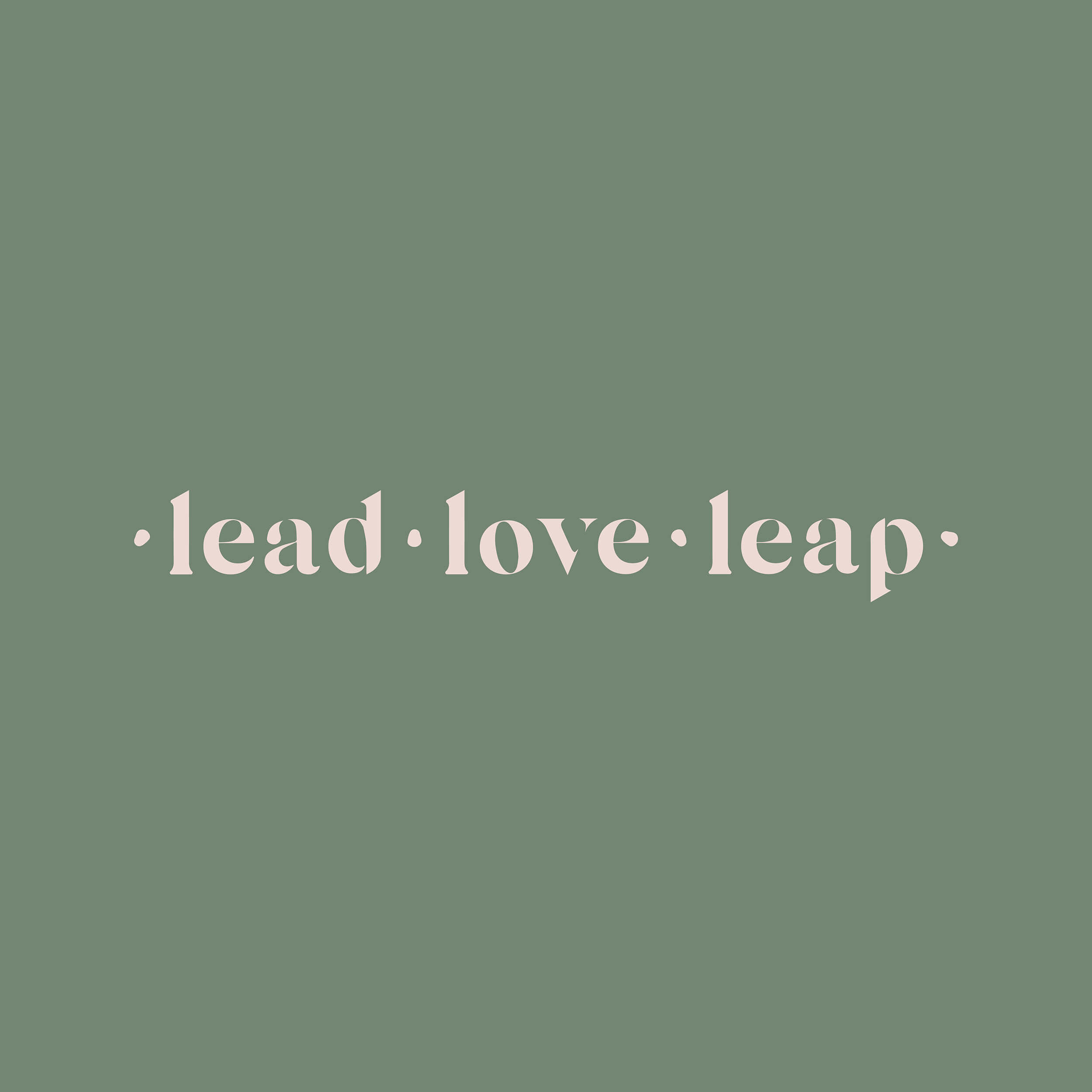 Lead Love Leap