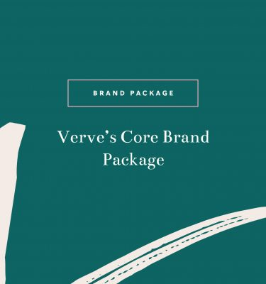 Verve's Core Brand Package