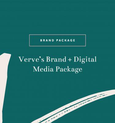 Verve's Brand + Digital Media Package