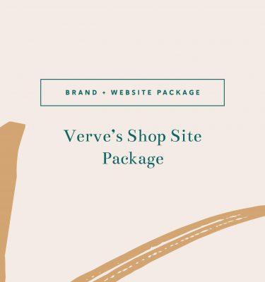Verve's Shop Site Package