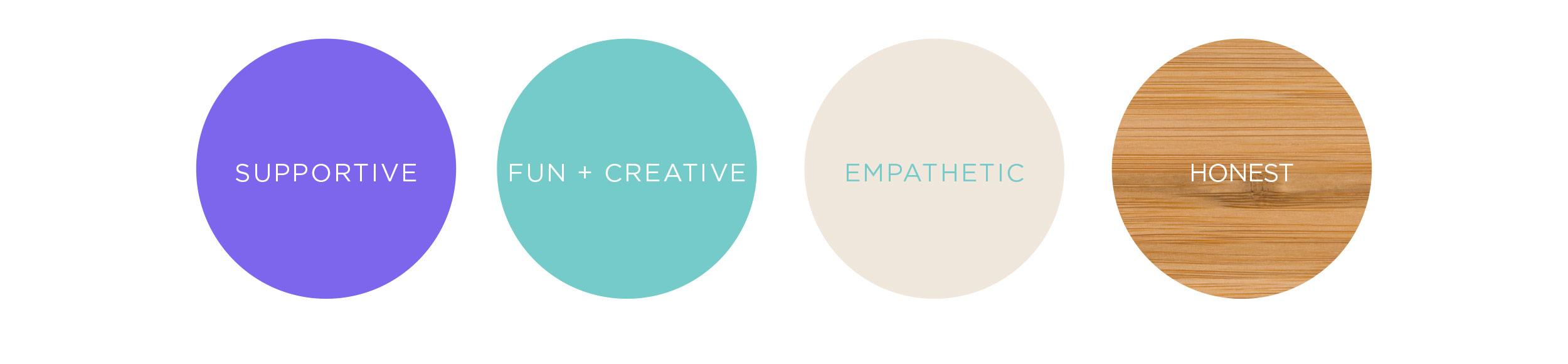 Creative Concepts Colour Palette