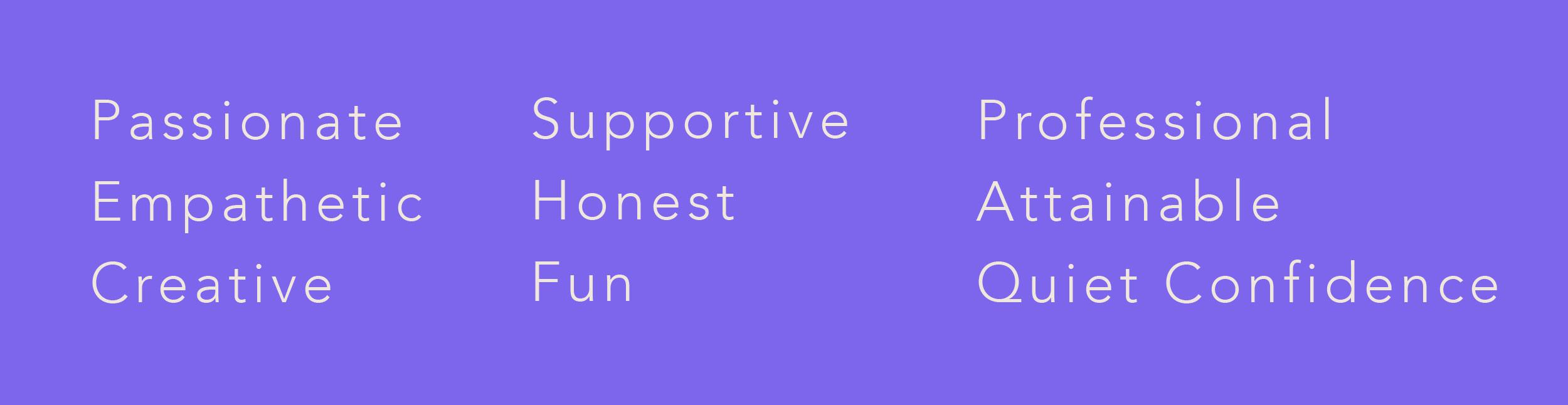 Creative Concepts Descriptive