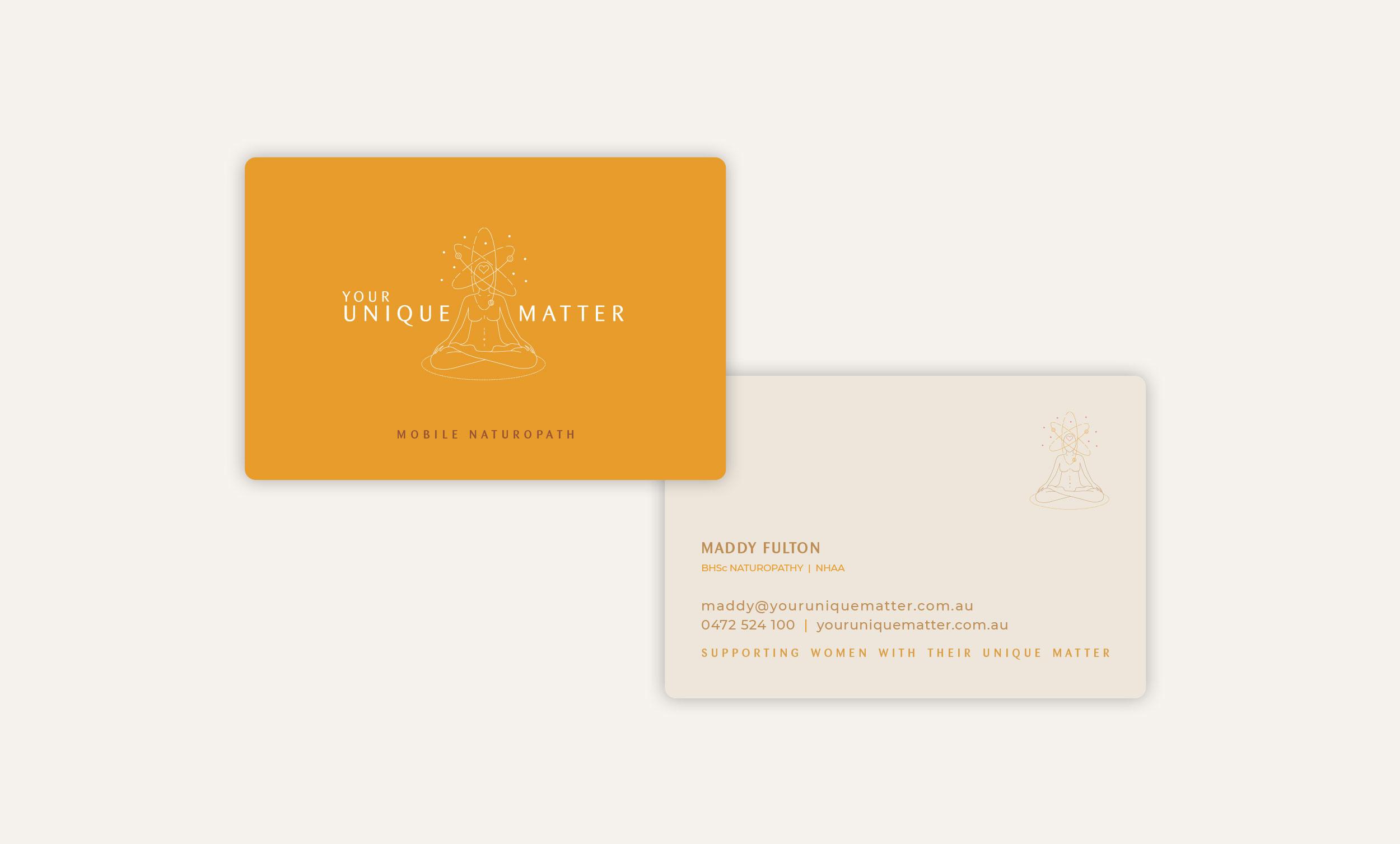Your Unique Matter Business Cards