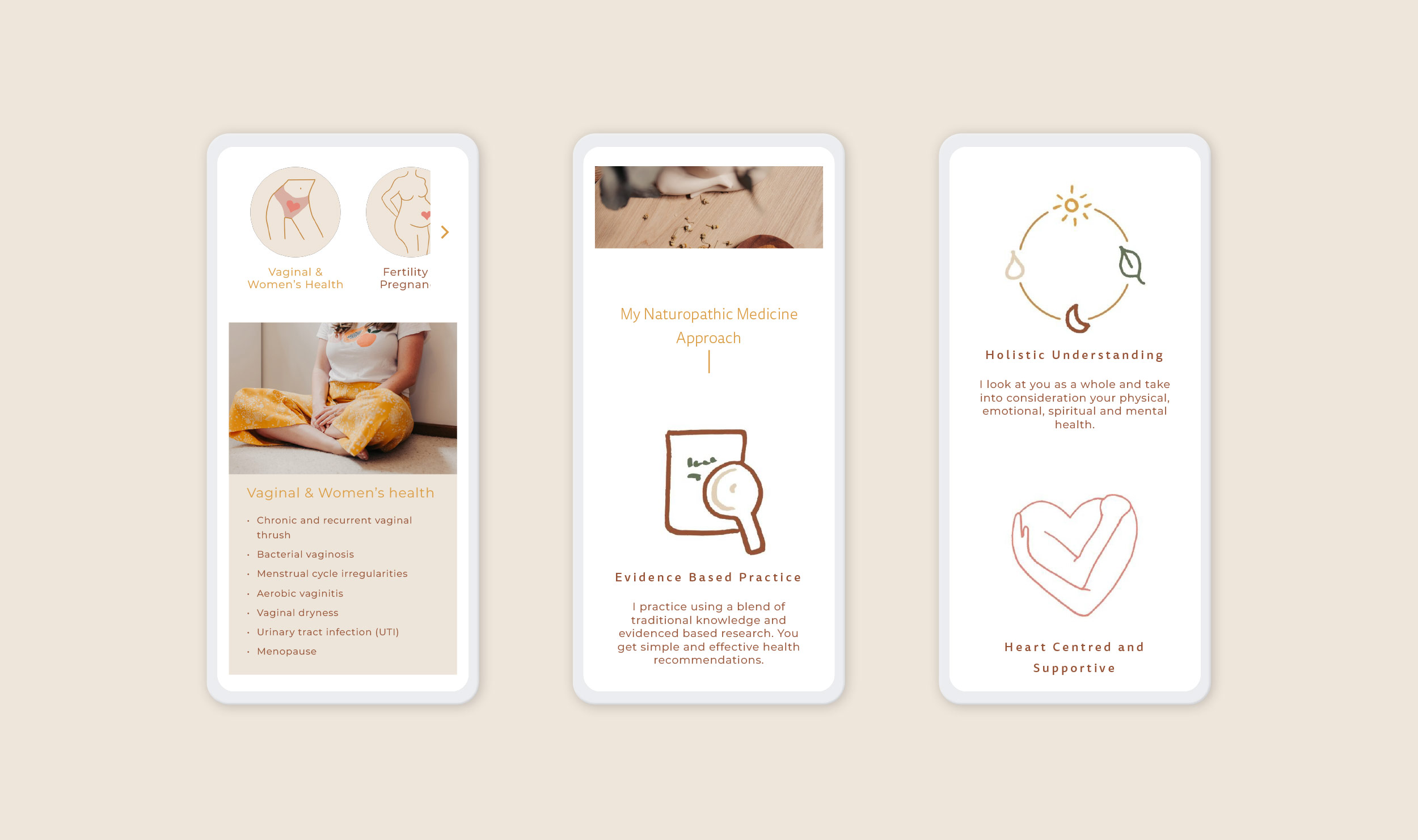 Your Unique Matter Mobile Site Design