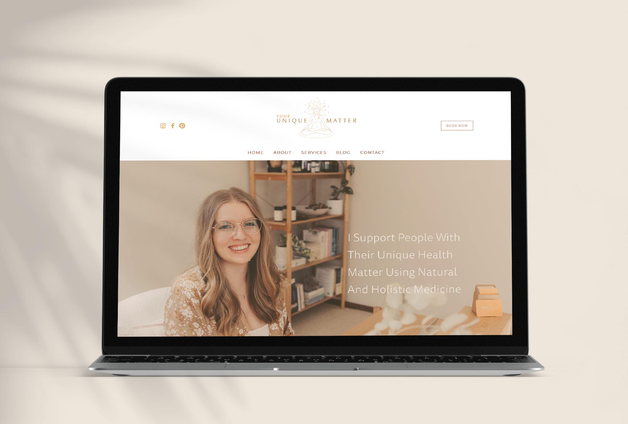 Your Unique Matter Website Design